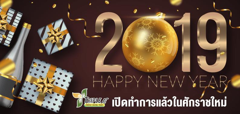 HAPPY NEW YEAR 2019 เปิดทำการศักราชใหม่