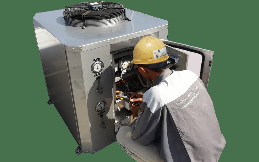 ฮีทปั๊ม Heat Pump – ส่วนประกอบของฮีทปั๊ม