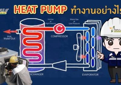 Heat Pump ทำงานอย่างไร‼️