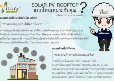 SOLAR PV ROOFTOP แบบไหนที่เหมาะกับคุณ!!