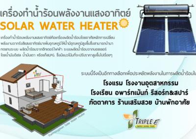 Solar Water Heater เหมาะกับการใช้งานที่ไหนบ้าง??